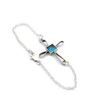 Armbånd kors smykke