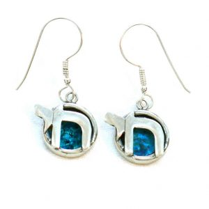 Blå Chai øreringe